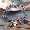 handmade boho mermaid bracelet