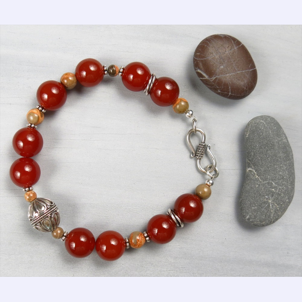 Handmade gemstone jewelry