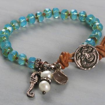 handmade boho bracelet