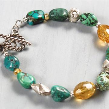 Handmade Turquoise bracelet