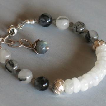 Handmade Moonstone Bracelet