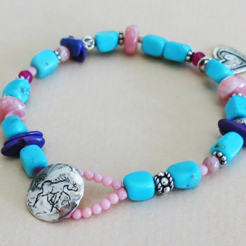Nacozari Turquoise Bracelet